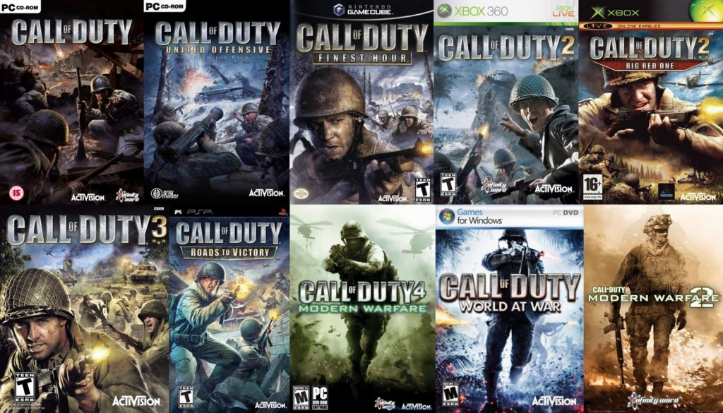 Call Of Duty COD Collection sohansurag